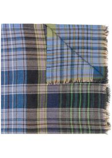 Etro check scarf