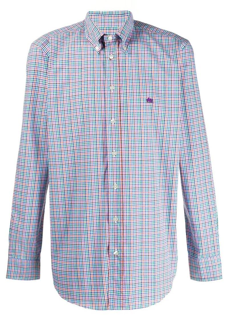 Etro check shirt