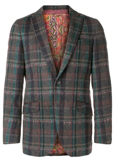 Etro checked blazer