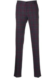 Etro checked trousers