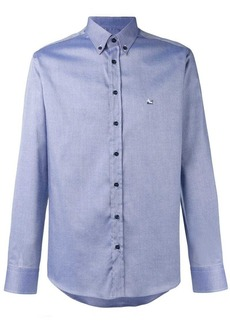 Etro chest logo embroidered shirt
