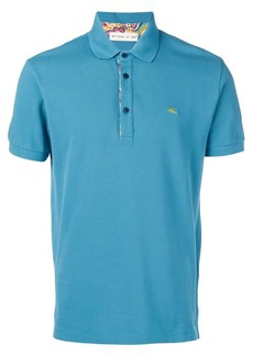 Etro chest logo polo shirt