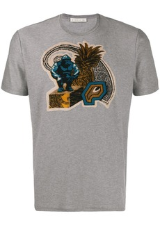 Etro chest patch T-shirt