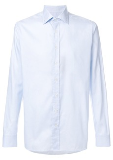 Etro classic curved hem shirt