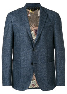 Etro classic single-breasted blazer