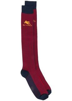 Etro colour block striped socks