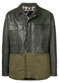 Etro contrast panel jacket