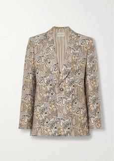 Etro Cotton-blend Brocade Blazer