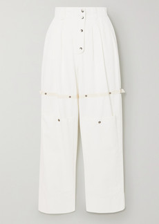 Etro Cotton-twill Tapered Pants