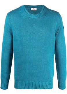 Etro crew-neck intarsia-knit jumper
