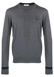 Etro crew neck sweatshirt