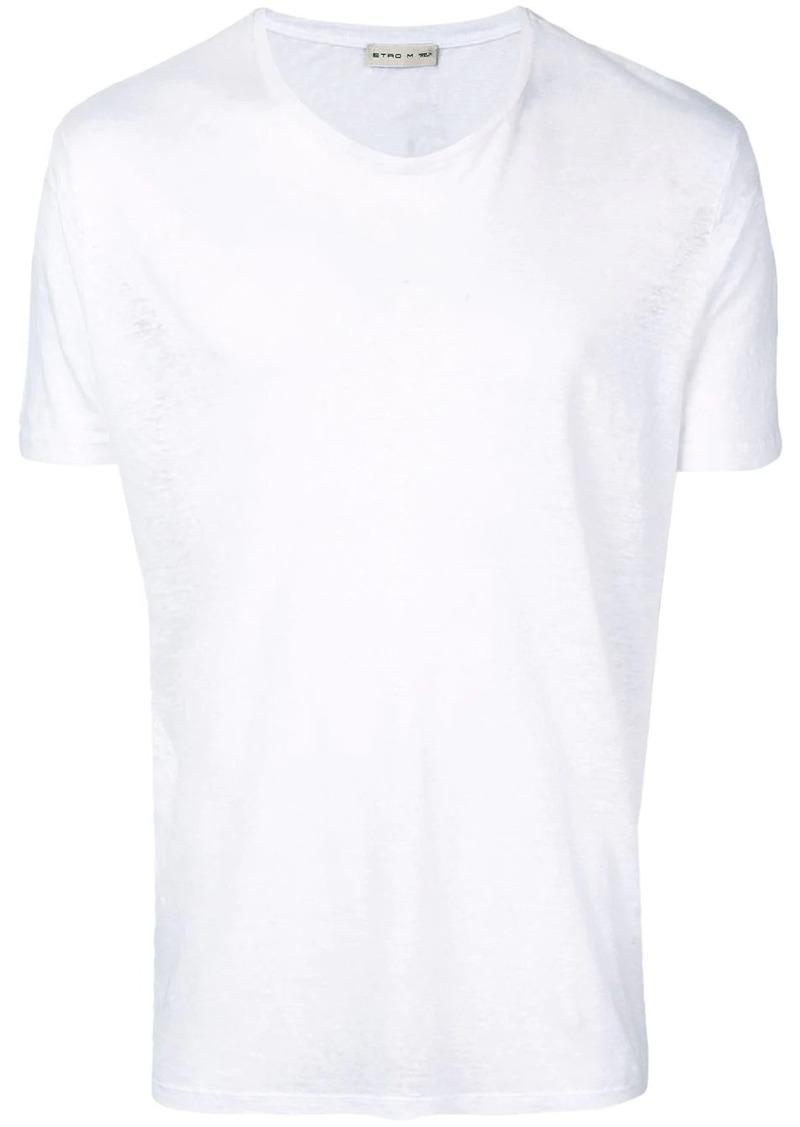 Etro crew neck T-shirt