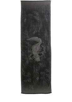 Etro Crocodile Silk Blend Scarf