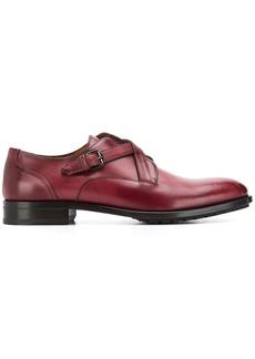 Etro cross strap lace-up shoes
