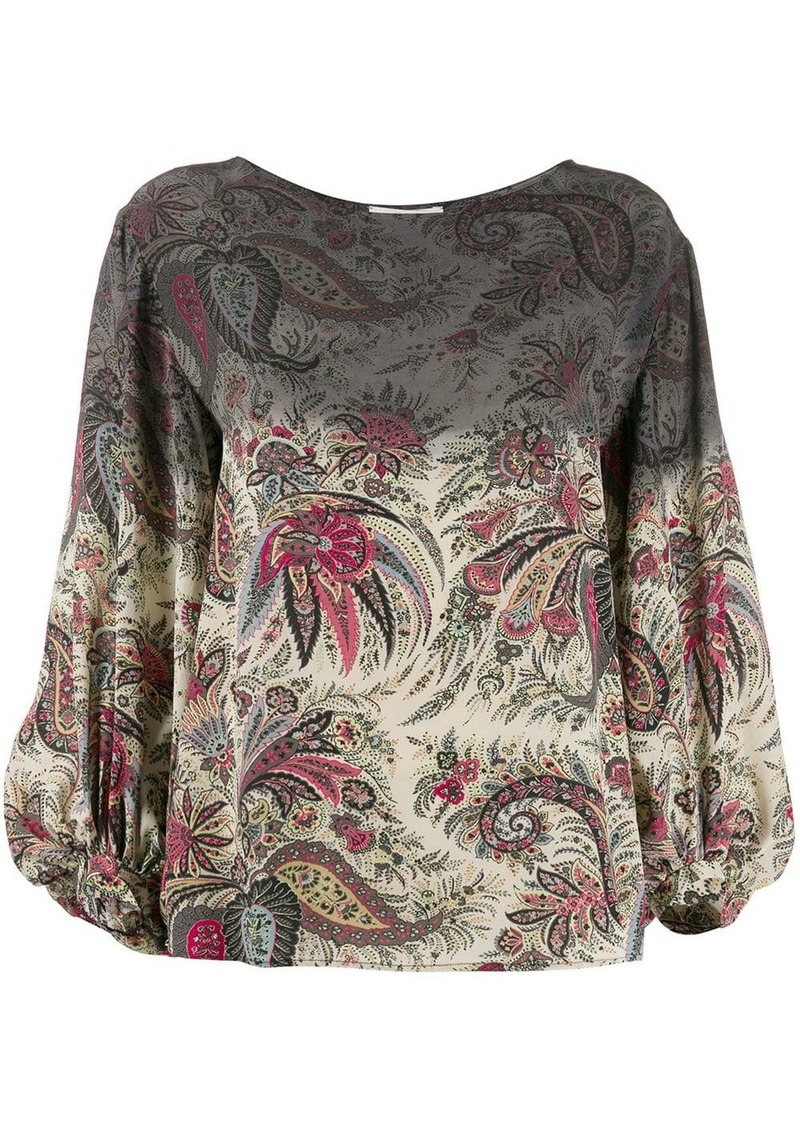 Etro Degrade paisley-print blouse