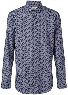 Etro dragon print shirt