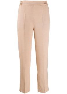 Etro elasticated straight leg trousers