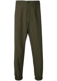 Etro elasticated waist trousers