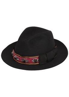 Etro Embellished Brimmed Hat