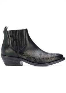 Etro embellished leather boots