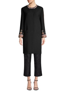Etro Embroidered Beaded Topper