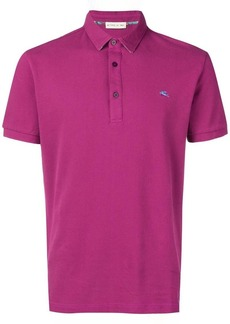 Etro embroidered logo polo shirt
