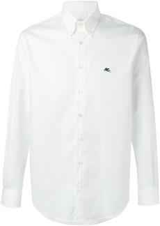 Etro embroidered logo shirt