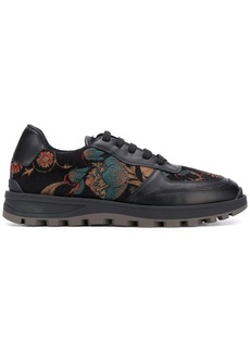 Etro embroidered low top sneakers