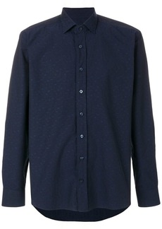 Etro embroidered micro paisley shirt