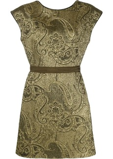 Etro embroidered paisley dress