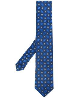 Etro embroidered pattern tie