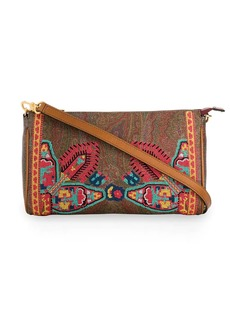 Etro embroidered shoulder bag