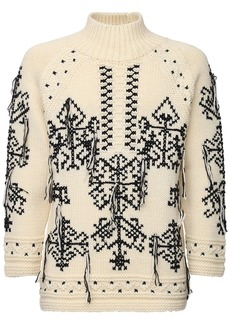 Etro Embroidery Wool & Cashmere Sweater