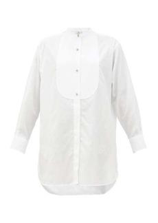 Etro Andravida bib-front cotton-poplin shirt