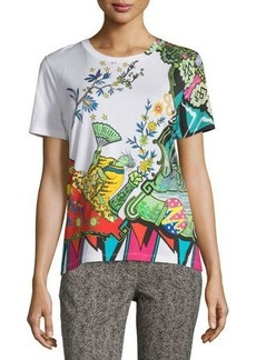 Etro Arcade Painterly Printed Tee
