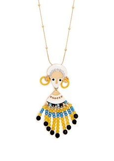 Etro Bead and crystal-embellished necklace