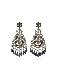 Etro Beaded drop earrings