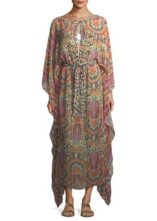 Etro BELTED CAFTAN