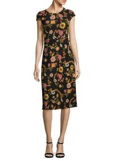 Etro Belted Floral Dress