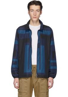 Etro Black & Blue Neutra Sportswear Jacket