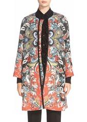 Etro Botanical Knit Duster Coat