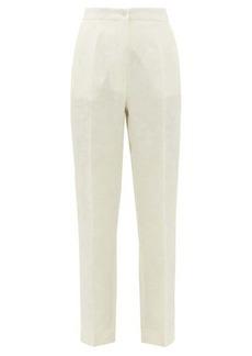 Etro Bristol floral-jacquard trousers
