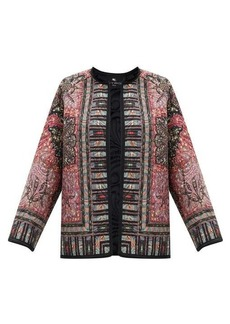 Etro Brumby floral-print quilted jacket