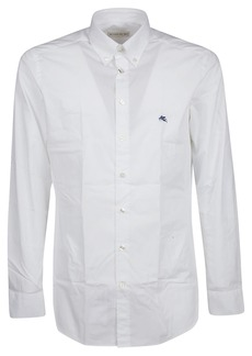 Etro Button Down Logo Shirt
