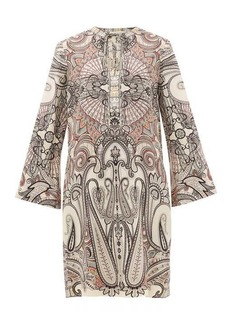 Etro Cannalla paisley-print wool-blend dress