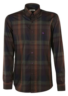 Etro Checked Button Shirt