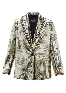 Etro Cheshire paisley sequin blazer