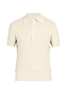 Etro Contrast-panel cotton polo shirt
