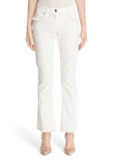 Etro Crop Flare Jeans