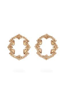 Etro Crystal-embellished hoop earrings